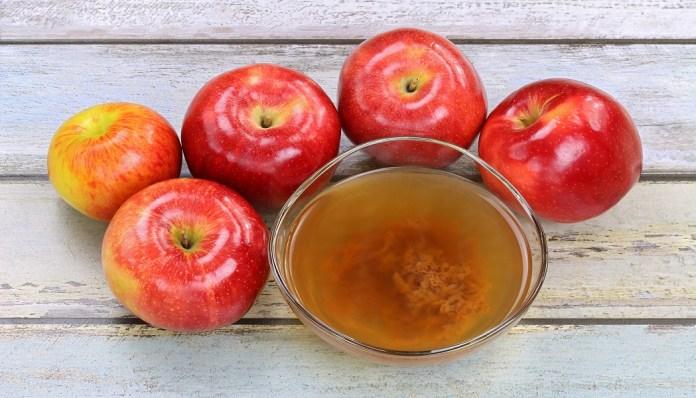 apple cider vinegar for cure cold sores