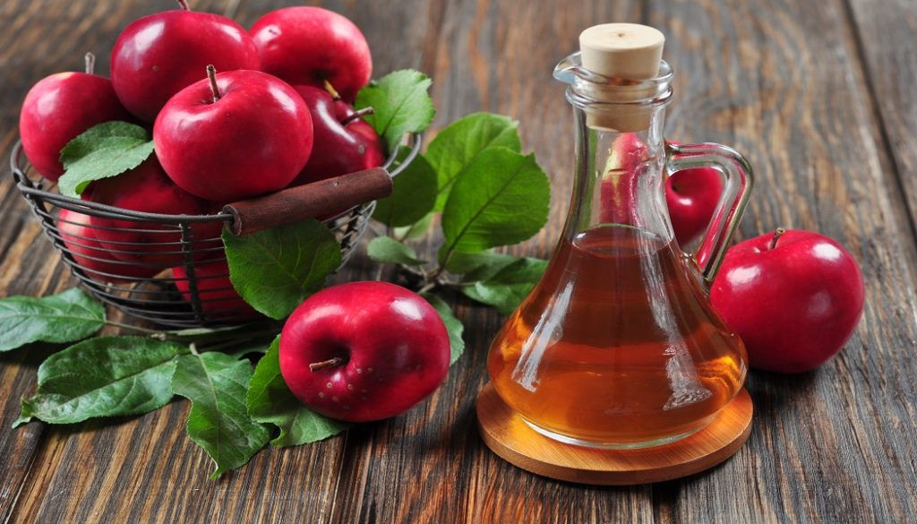 apple cider vinegar for treat scabies