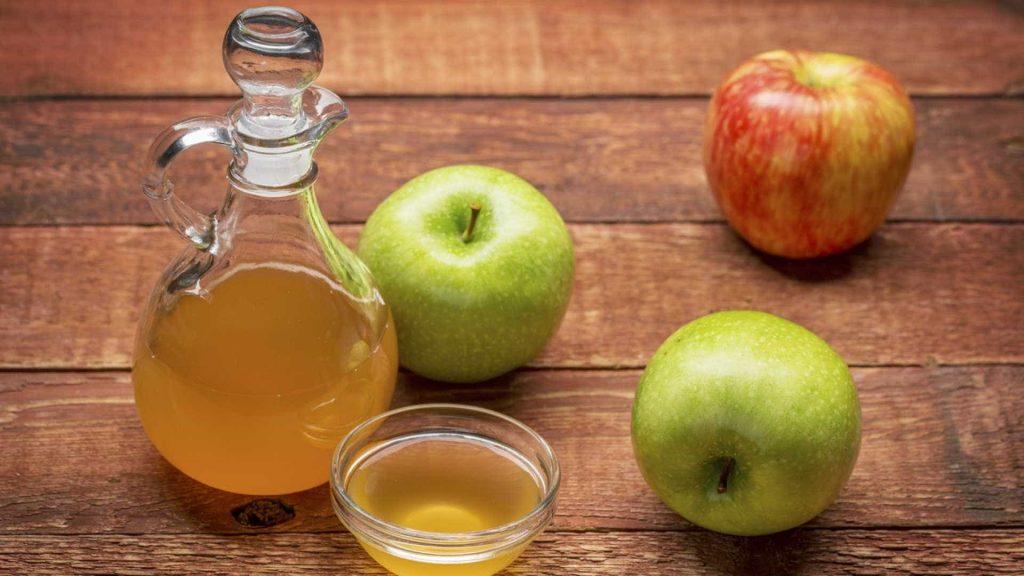 apple cider vinegar to tighten skin on arms