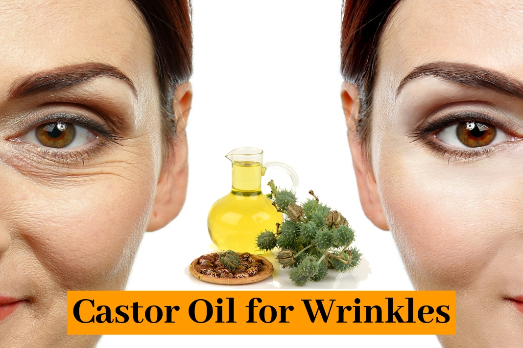castor oil for wrinkles