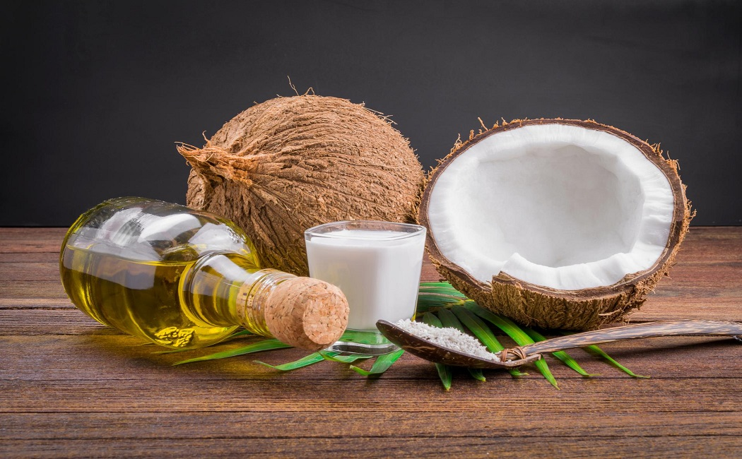 coconut oil for get rid of toenail fungus