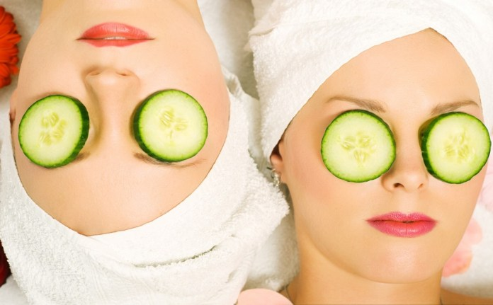 cucumber relief for eye bags