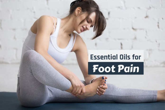 essential oils for foot pain