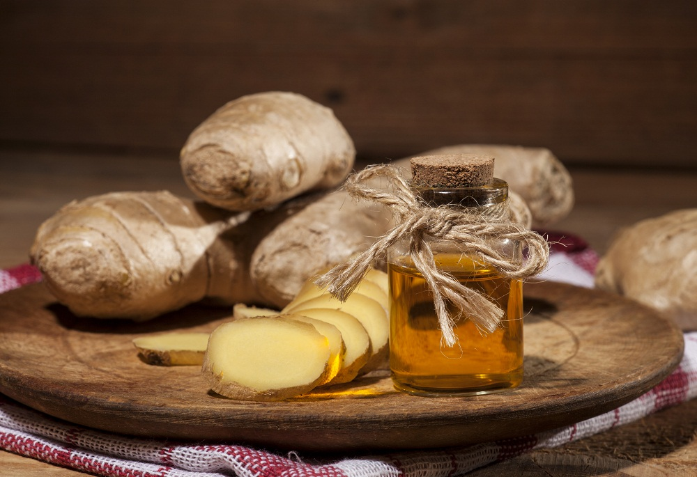 ginger essential oil for irritable bowel syndrome