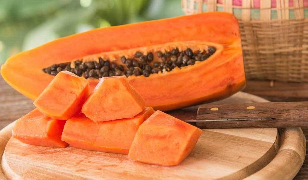 papaya for corns on your feet