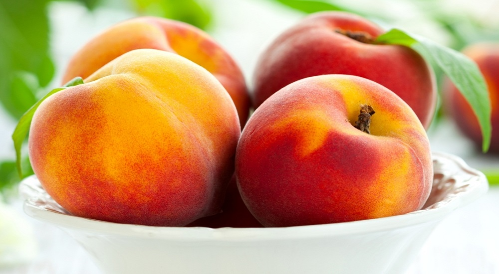 peaches are rich in antioxidants