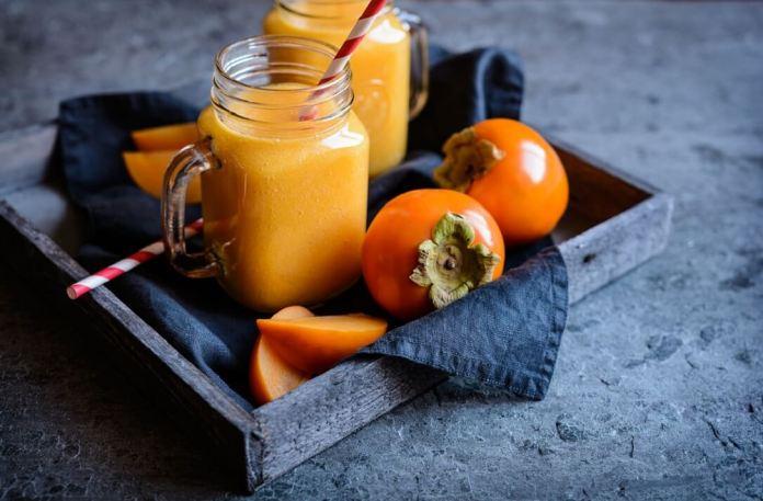 persimmon smoothie