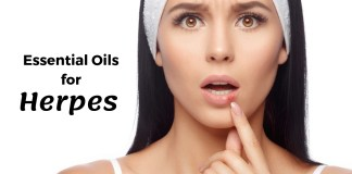 Essential Oils for herpes