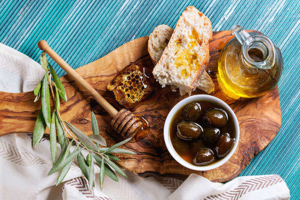 Olive oil and Honey