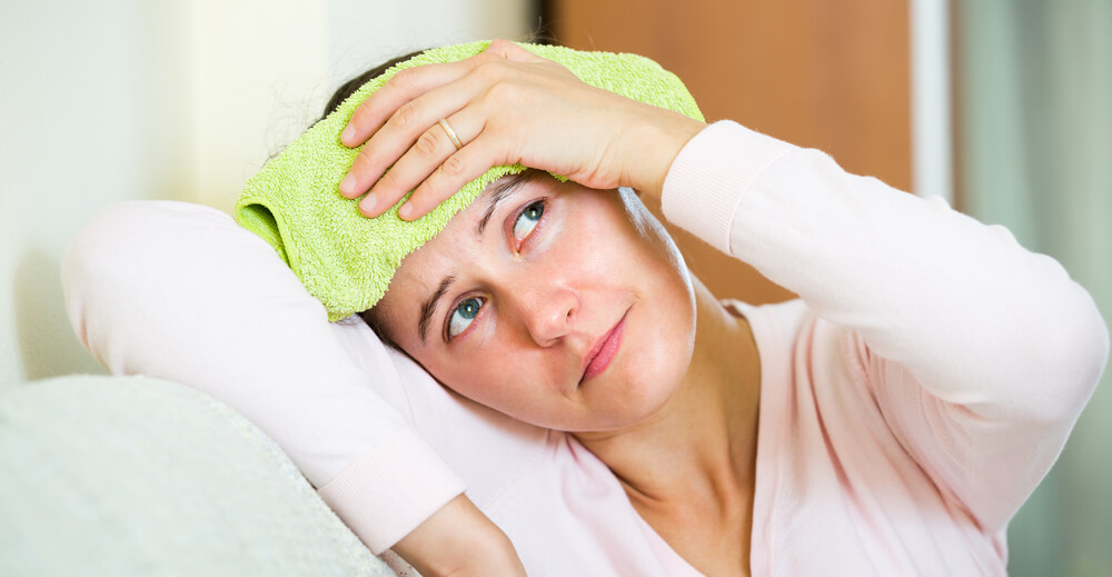 cold press for redness of skin