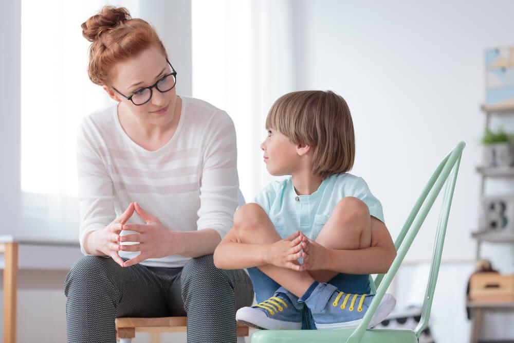 conversation with child