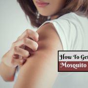 get rid of mosquito bites