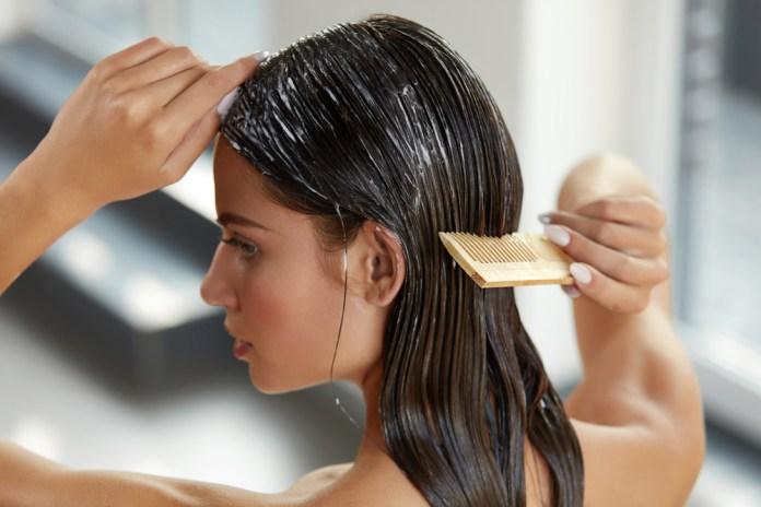 DIY mask for hair growh