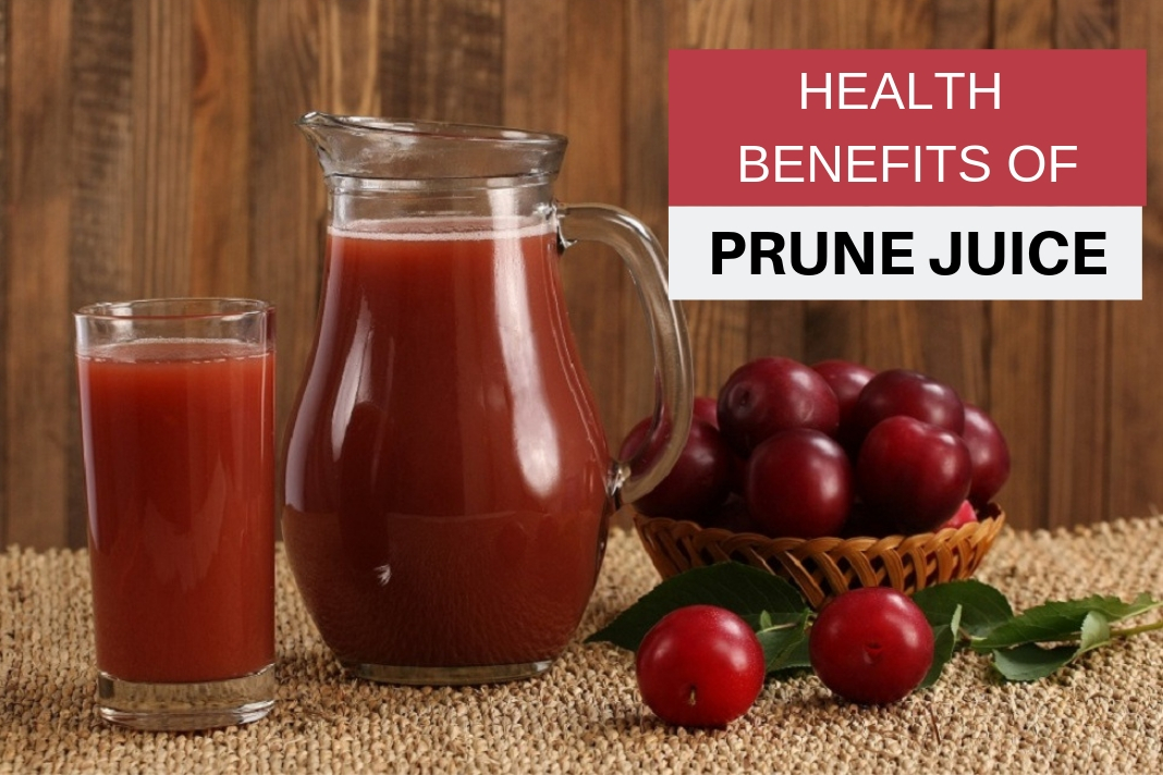 health benefits of prune Juice