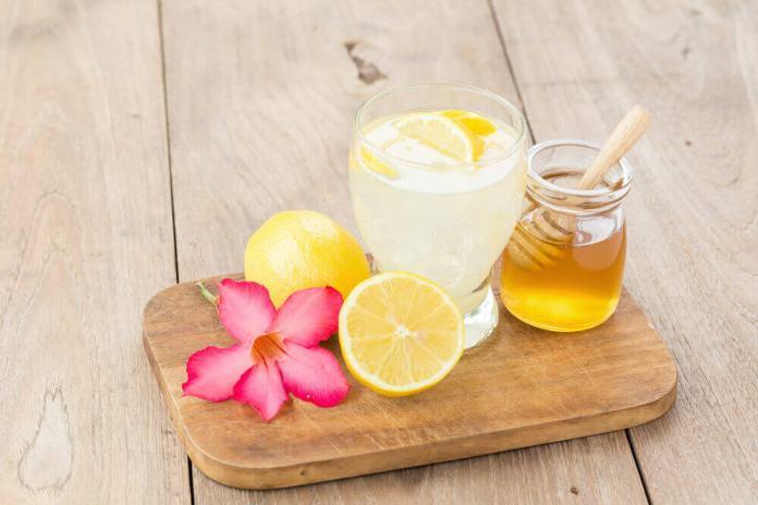 lemon juice honey