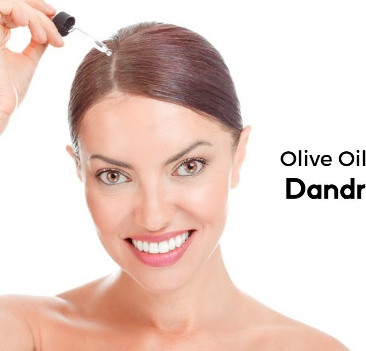 olive oil for Dandruff