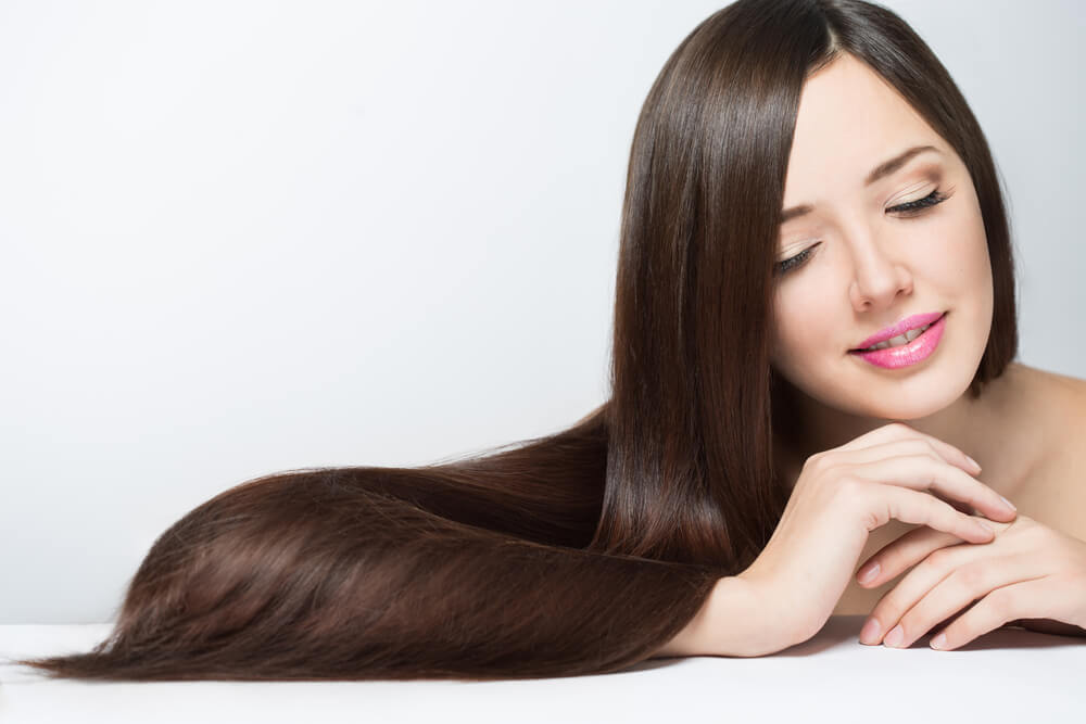Healthy and lustrous hair