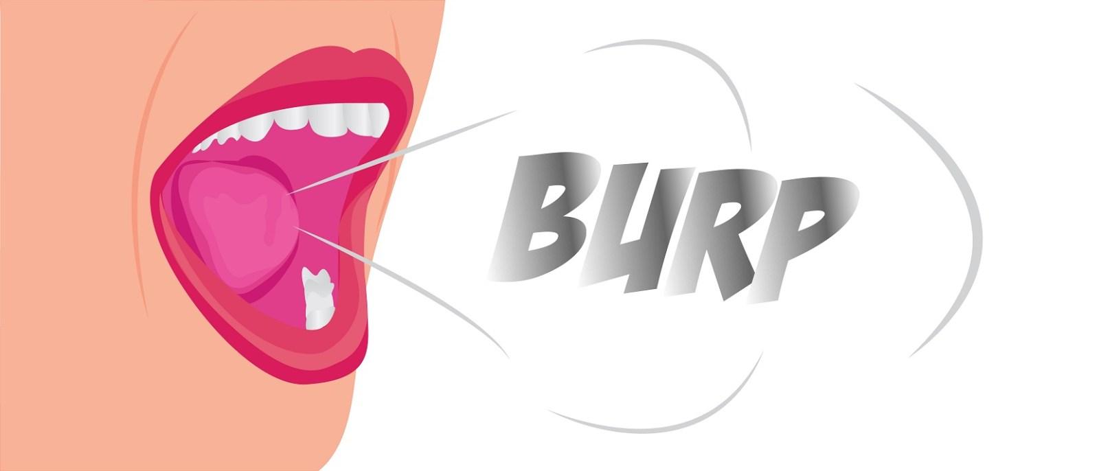sulphur burp