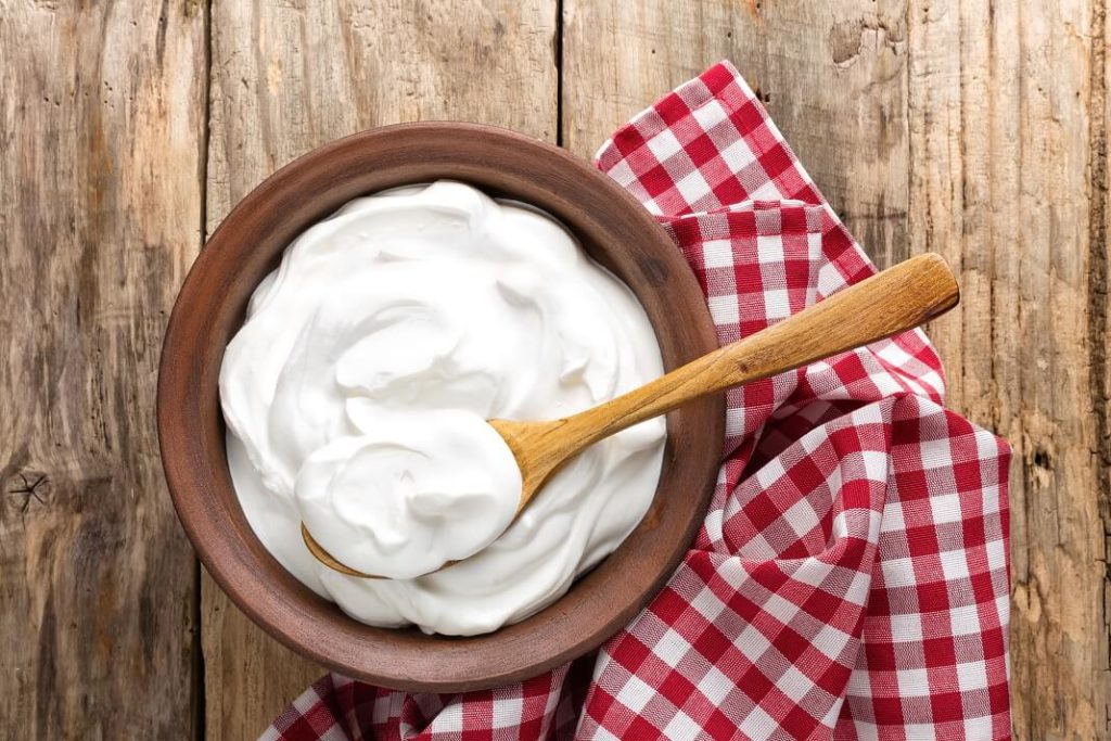 yogurt for redness of skin
