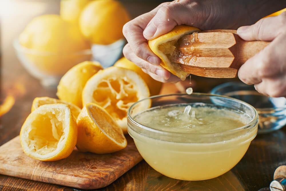 Epsom salt and lemon juice