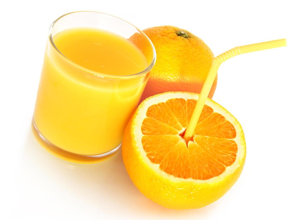 Epsom salt and orange juice