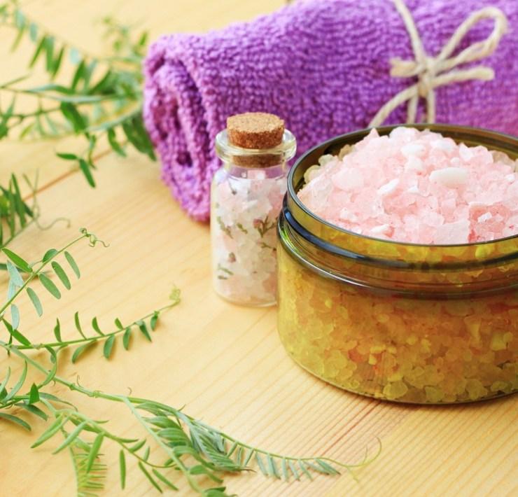 epsom salt hair