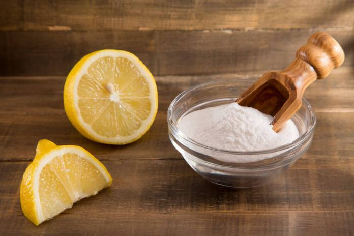 lemon baking soda