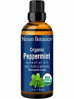 peppermint essential oil-