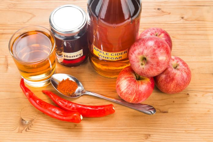 Cayenne pepper with ACV