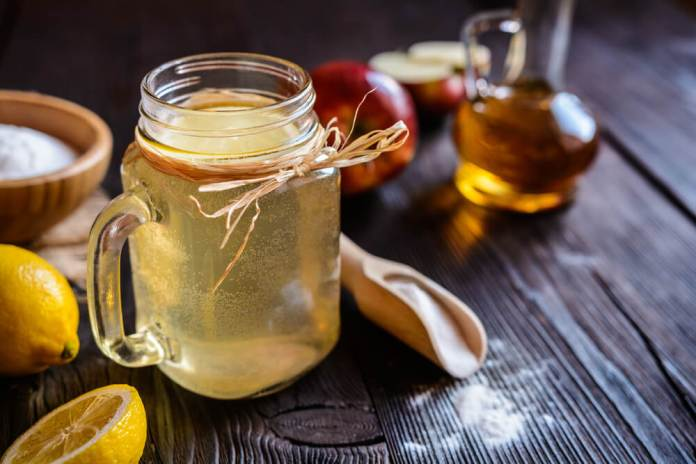 Apple Cider Vinegar and lemon juice