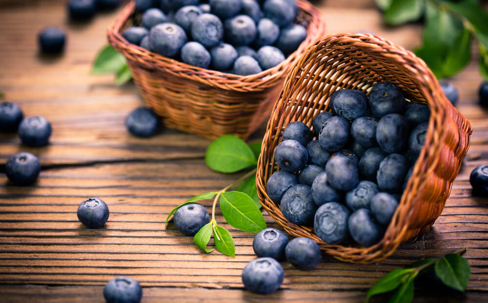 Blue berry for energy
