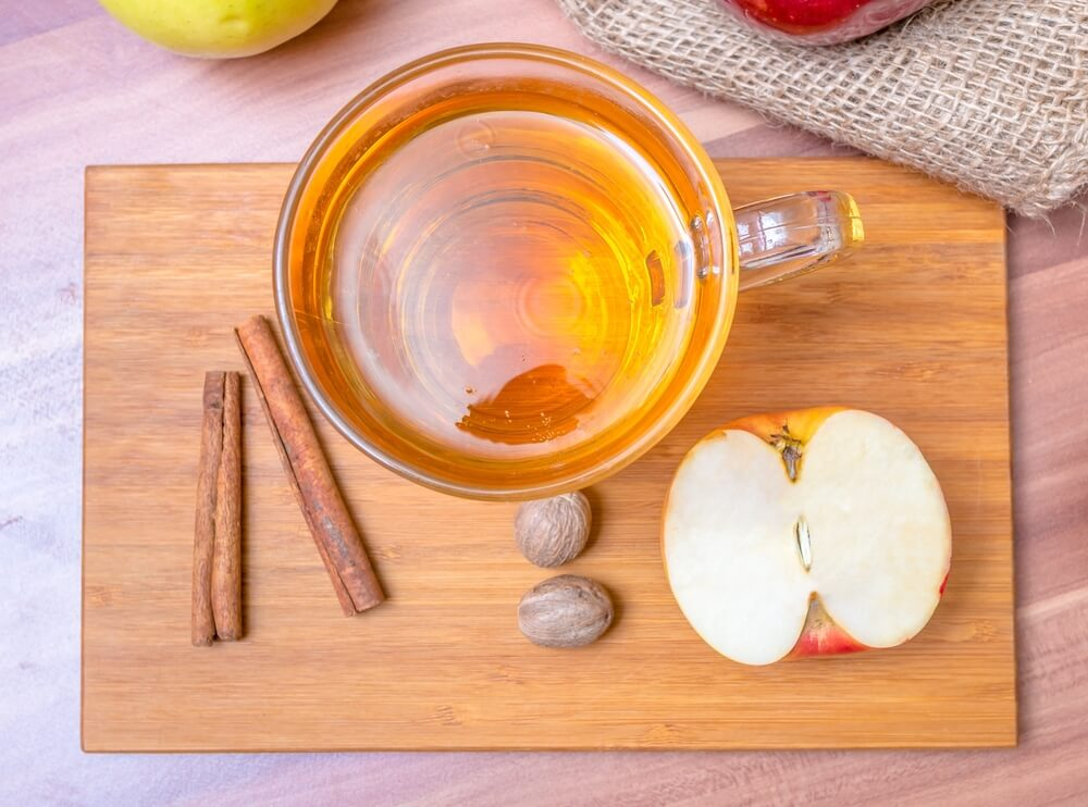 ACV and cinnamon powder for hot flashes