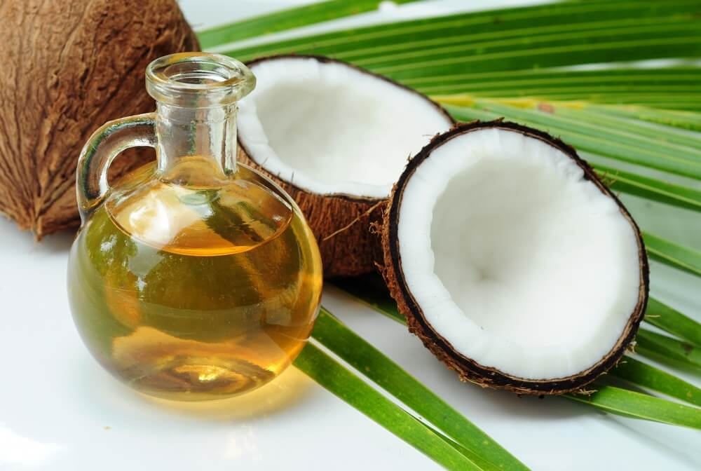 coconut oil cures Scars