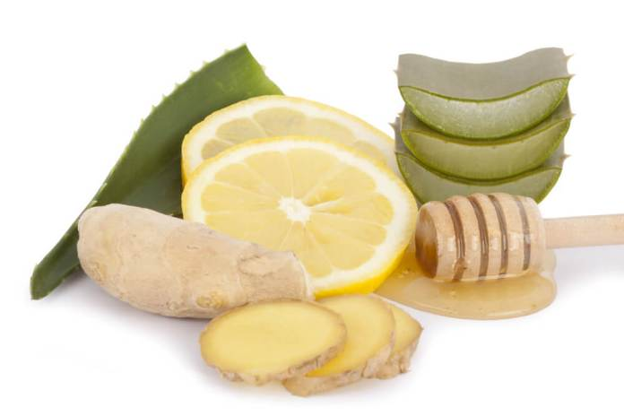 ginger and aloe vera for hair growth