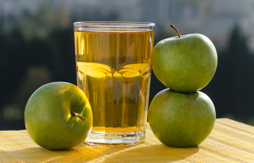 Green Apple juce for constipation