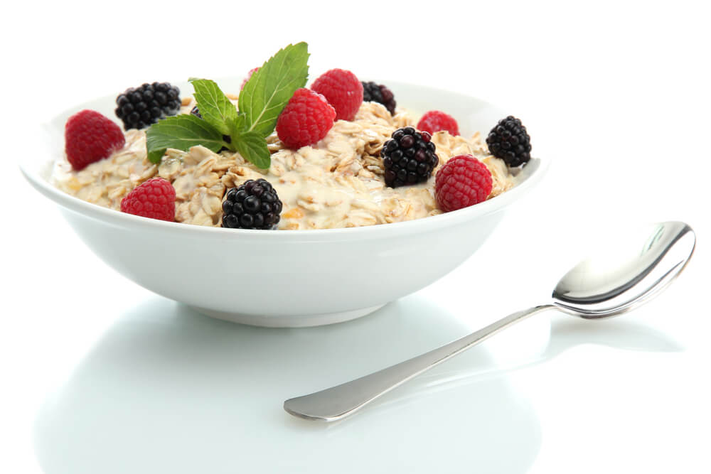 Oatmeal and Berry bowl