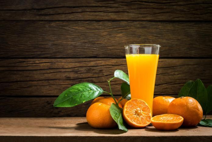Orange juce for constipation