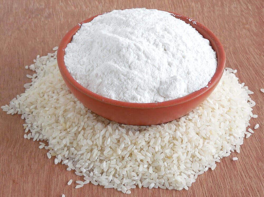 Rice flour and ACV for toenail fungus