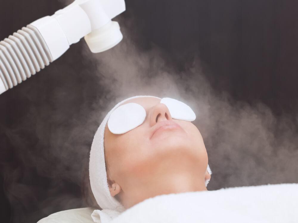 Skin Care steam therapy