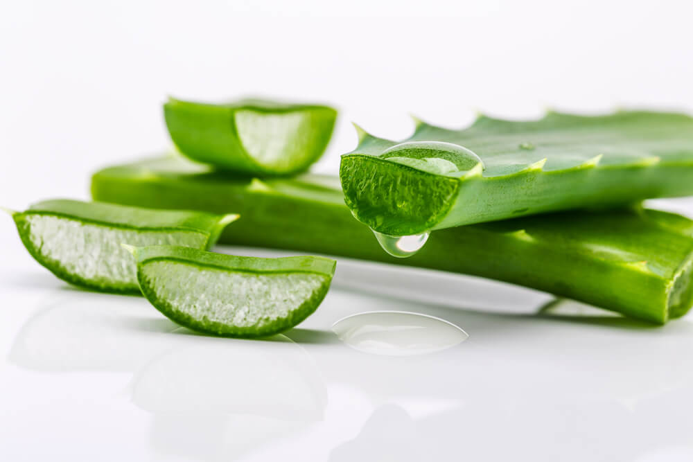 aloe vera for sunburn