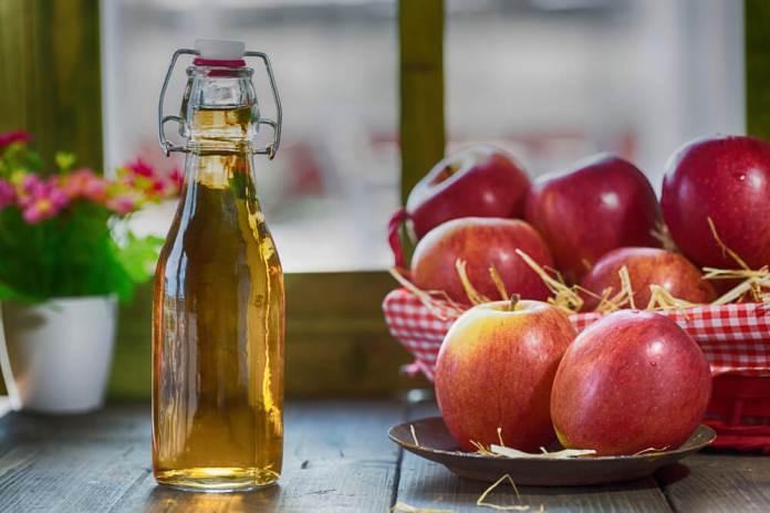 apple cider vinegar for allergie