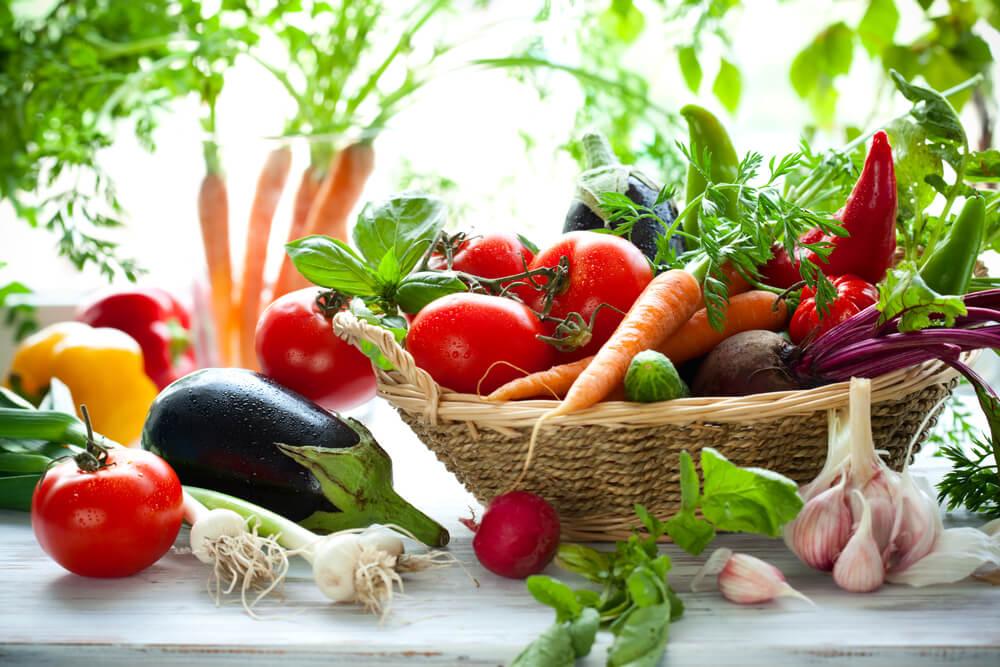 organic and seasonal foods