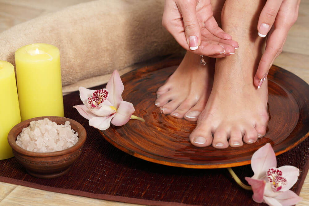 ACV soak For Toenail Fungus