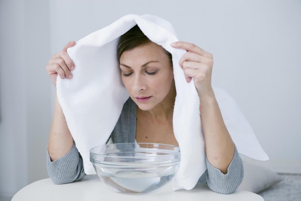 Stem Inhaler to get rid of stuffy nose