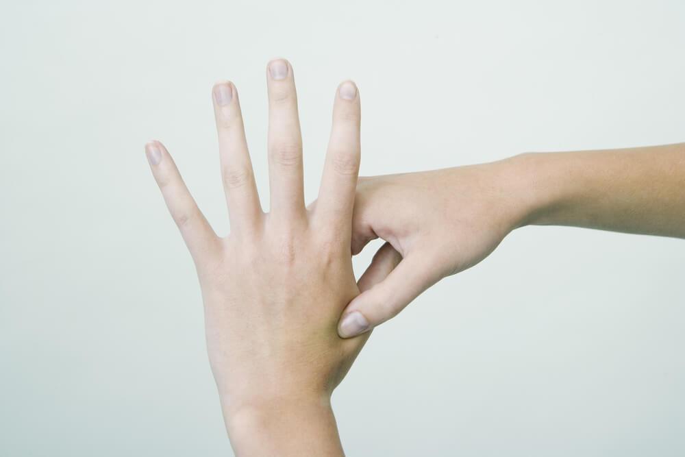 Acupressure Hand Point