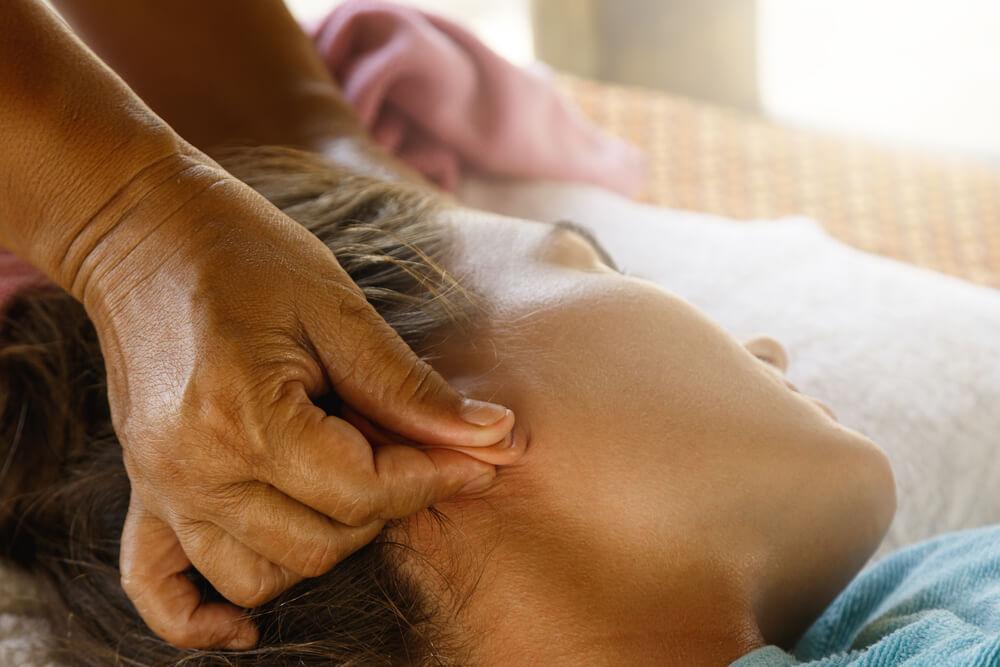 Back Ear Massage