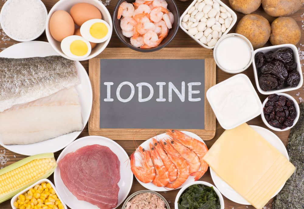 Iodine benefits