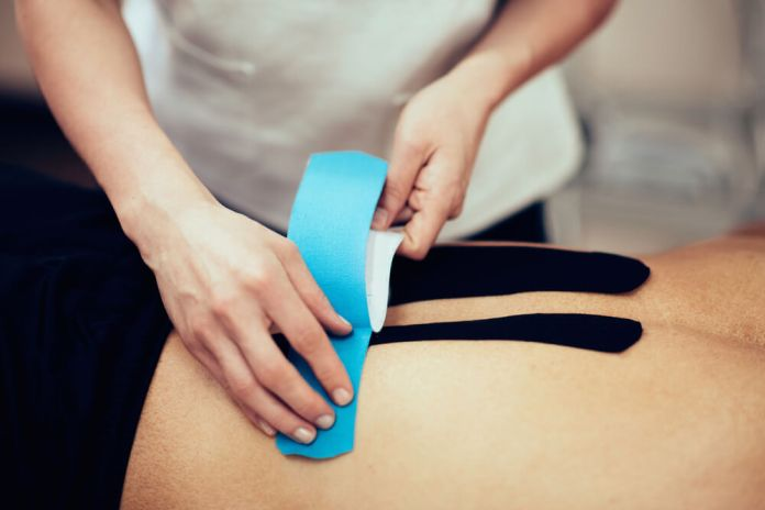 Kinesiology Tape for Lower Back