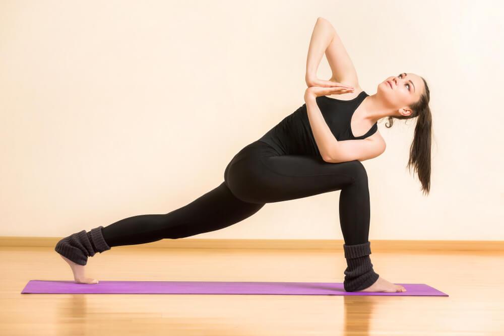 Parivrtta Anjaneyasana for Hip Pain