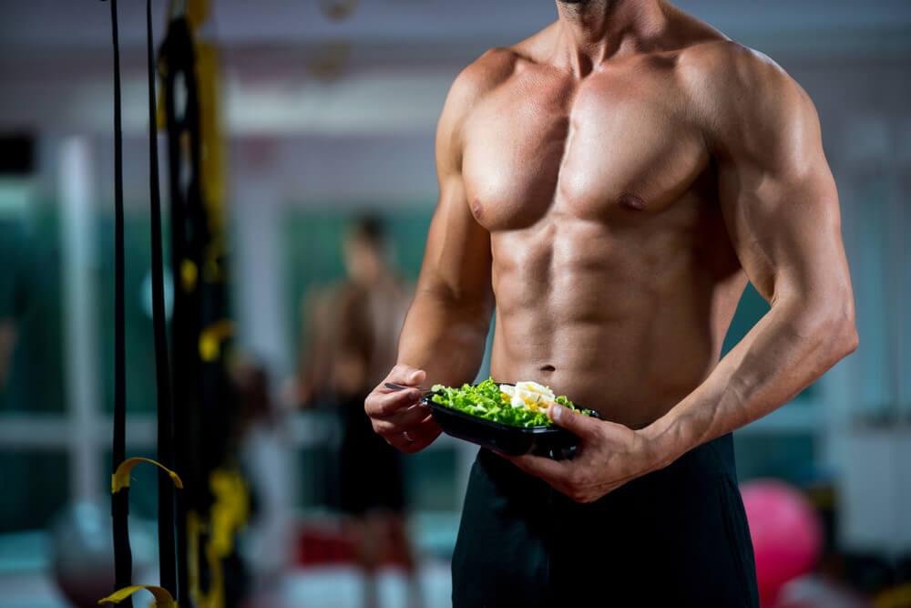 Vegetarian Body Builder